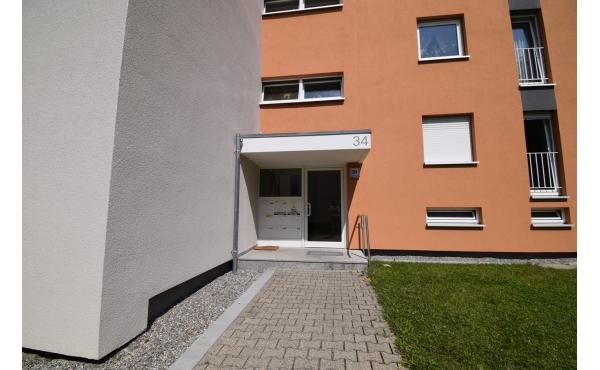 Außenansicht Gebäudeeingang